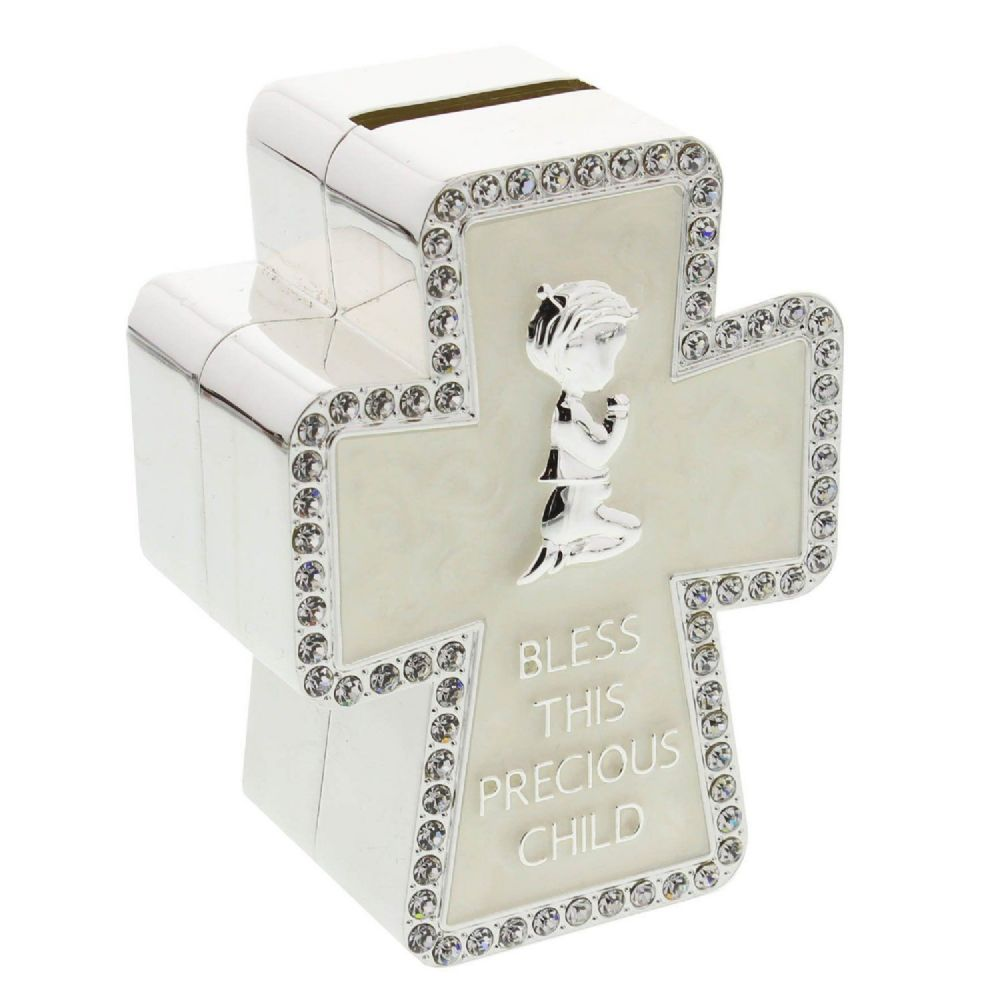 Posh Baby Gifts Uk : Baptism christening new baby and communion gift bless this